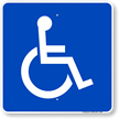 Texas ADA Handicapped Sign