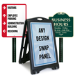 Outdoor Business Signs and Panels