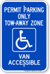 Georgia ADA Handicapped Parking Sign
