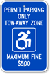 Updated Accessible Sign
