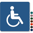 9in. x 9in. Accessible TactileTouch™ Sign (no Braille)