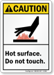 Caution (ANSI) Sign