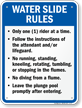Indiana Rules Sign