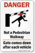 Pedestrian Safety Sign