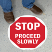 SlipSafe™ STOP Floor Sign