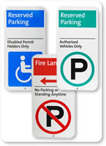 2000 Parking Signs